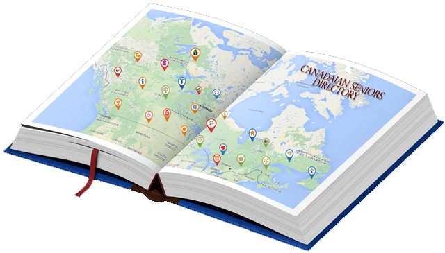 canadian seniors directory book map tp  Canadian Seniors